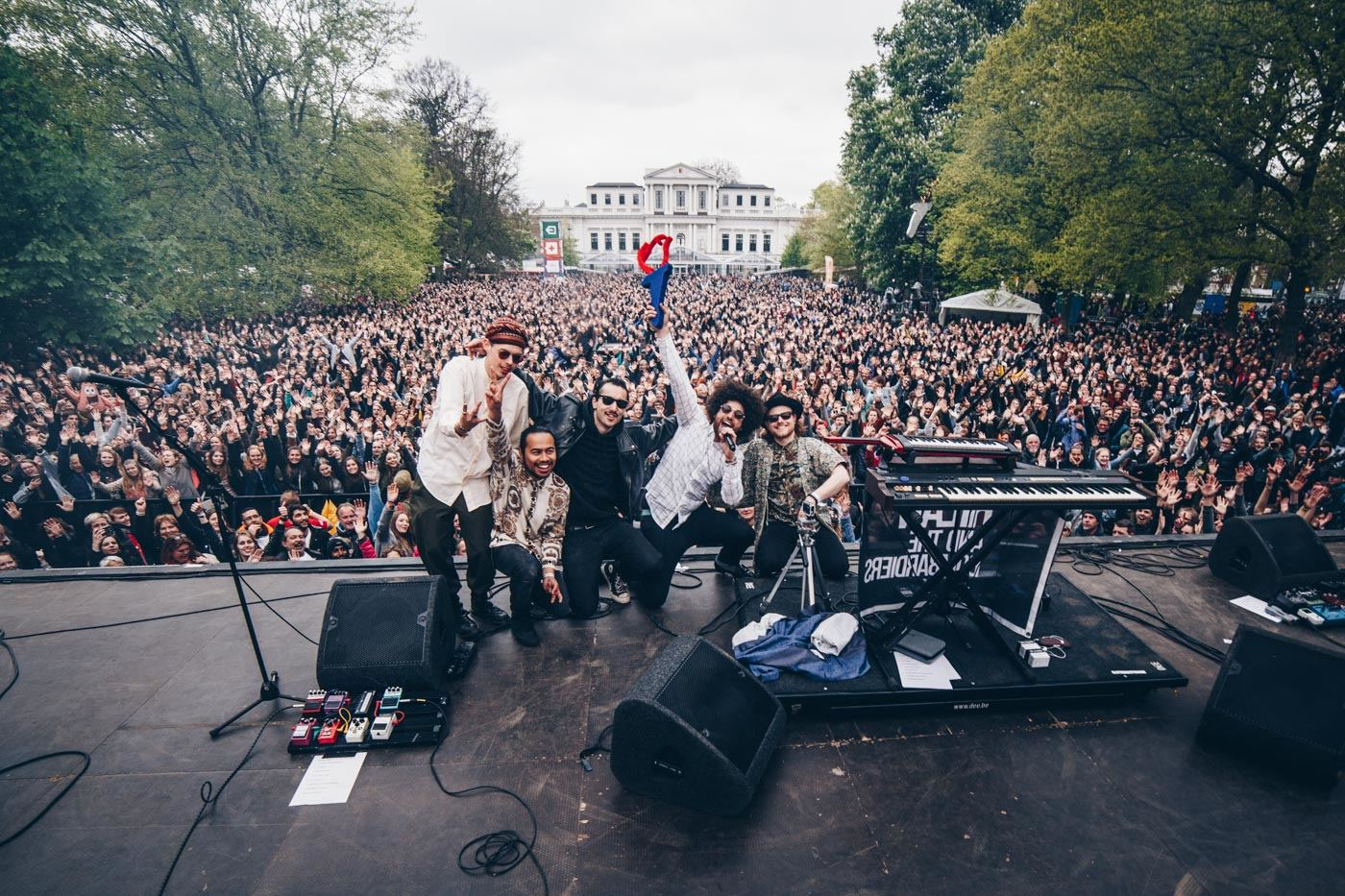 bevrijdingspop 2017 rilan and the bombardiers