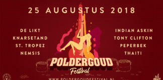 PolderGoud Festival Line-up