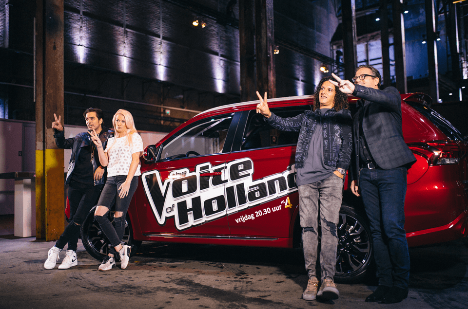 the voice of holland 7 Coaches